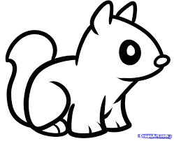 Easy To Draw Anime Animals Cute Baby Animal Coloring Pages Dragoart