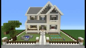 Minecraft Building Designs Step By Step How To Build A Huge And Easy Minecraft Build House Cool