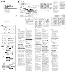 search sony m 570v user manuals manualsonline com Sony Cdx Gt230 Wiring Diagram sony cdx ca750 sony cdx gt210 wiring diagram