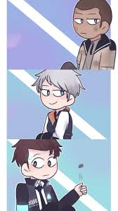 People interested in dbh wallpaper ciyt also searched for. Chibi Dbh Wallpaper Detroit Become Human Detroit Chibi
