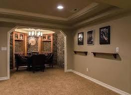 Finish Basement Design Custom Decoration