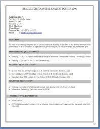 Mba Student Resume Samples Zromtk Impressive Mba Finance Fresher Resume Format