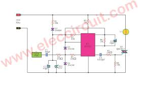 dimmer light touch system circuit
