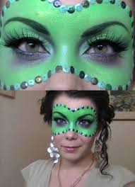 makeup mask perfect for wicked witch look