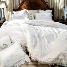 french country duvet covers images cream white egyptian cotton bedding set lace duvet cover satin