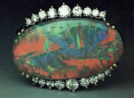 black opal ring 1 opal gems