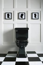 Black And White Bathroom The 25 Best Black Toilet Ideas On Pinterest Concrete Bathroom