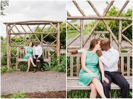 engagement session at meadowlark botanical gardens emily marie photography virginia wedding photographer