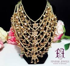 kundan necklace polki haar satlada haar indian jewelry bollywood jewelry