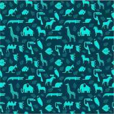 Repeating Patterns Stunning Animals Repeating Pattern Vector Illustration Free Vector In Adobe