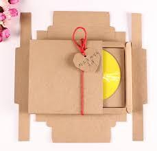 Cd Paper Case Alice 15pcs Lot Kraft Paper Case Cd Bag Quality Wedding Dvd Bags