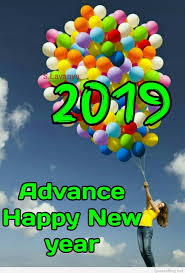Advance Happy New Year 2019 Images Wallpapers Wishes
