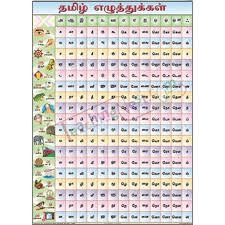 70 Most Popular Tamil Alphabet Chart