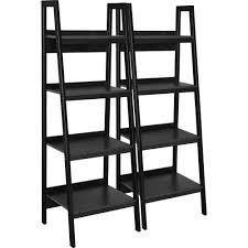 black iron furniture. fine black ameriwood home lawrence 4 shelf ladder bookcase bundle black set of 2   walmartcom to iron furniture