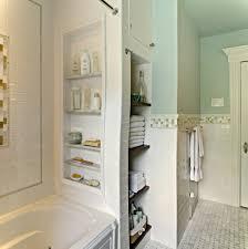 tiny bathroom storage solution