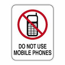 Do Not Use Mobile Phones Safety Signs Australia