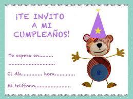tarjetas de cumplea os para ni as de cumpleaños para niños con el oso traposo