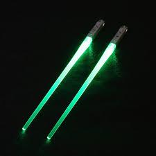 Lightsaber Chopsticks Light Up Get It Gizmos Light Up Lightsaber Chopsticks Green
