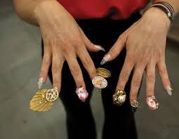 salon culture dzine brings nail art to a new level