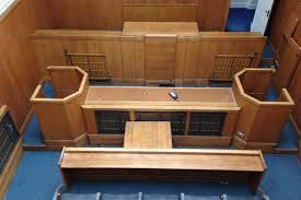 Fancy owning your own court room Sefton Mags furniture up for