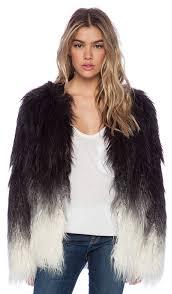 x stone free faux fur jacket