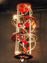 industrial contemporary lighting. Custom Made Industrial Contemporary Eclectic Sculpture Art  Chandelier Light Design Industrial Contemporary Lighting A