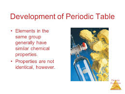 Periodic Properties of the Elements Chapter 7 Periodic Properties ...