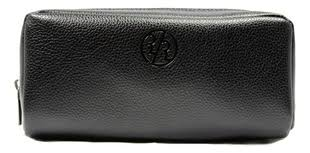Купить <b>дорожный несессер genuine leather</b> dopp (черная кожа ...