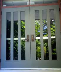 commercial steel entry doors. this is a picture of the new metal doors at west entrance first commercial steel entry