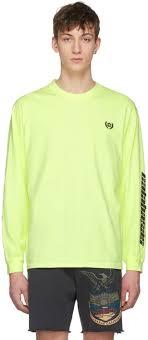 Calabasas Long Sleeve Size Chart Yeezy Yellow Long Sleeve Calabasas T Shirt