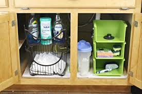 Kitchen Sink Storage Under The Kitchen Sink Organization