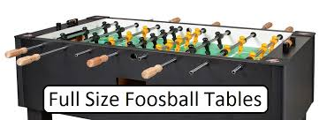 foosball table dimensions. Full Size Foosball Table Dimensions E
