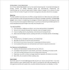 Account Analyst Job Description – Kappalab
