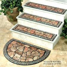 vinyl stair tread covers rugs curtains distinctive outdoor stair tread cover with stone distinctive outdoor stair