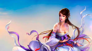 Beautiful Chinese Girl 3d - 2844x1600 ...