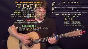 That Part (Schoolboy Q) Guitar Lesson Chord Chart - Capo 4th