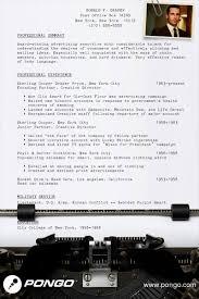 Pongo Resume Don Draper's Resume Pongo Blog 2