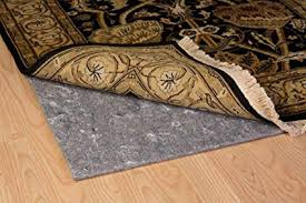 duo lock reversible felt and rubber non slip rug pad size 8