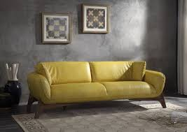 The most coherently decorated room have intention woven into every aspect of the space. Pesach Mustard Top Grain Leather Sofa Acme Furniture 55075