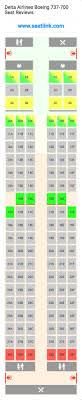 delta airlines boeing 737 700 73w seat map