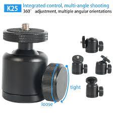 Camera <b>mini ballhead</b> 360 swivel head tripod <b>ball head</b> phone ...