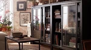 the hemnes glass door cabinet from ikea