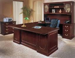 wooden office desks. Amazing Office Desk Decor Image Of Smart Solid Wood Throughout Attractive Wooden Desks