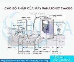 Máy lọc nước ion kiềm Panasonic TK-AS66 - Máy kangen ion kiềm