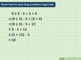 how to learn algebra pictures wikihow image titled learn algebra step 4