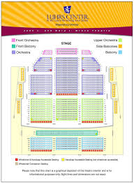 Hulu Theater Seating Chart With Seat Numbers Fisher Theater