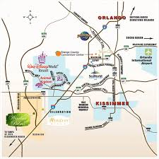 windsor palms resort orlando attractions Map Of Orlando Area orlando area attractions map area map of orlando area zip codes