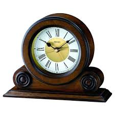 detailed image of the seiko qxe026blh reproduction table alarm clock antique reproduction wall clocks for sale  on art deco wall clock reproduction with reproduction french wall clocks reproduction art deco wall clocks