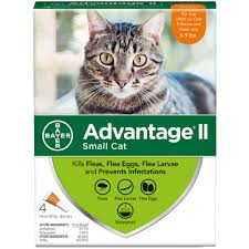 Advantage Ii Dosage Chart For Cats Advantage Ii 4pk Cat 5 9 Lbs