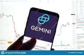 Gemini Btc Chart Gemini Cryptocurrency Exchange Logo Editorial Photo Image